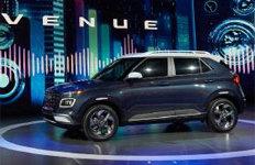 현대차 소형 SUV '베뉴'뉴욕서 세계 최초 공개