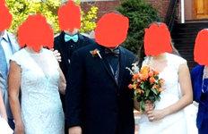 아들 결혼식에 며느리와 같은웨딩드레스가 웬말?
