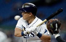 최지만, 균형 깨는 투런포 작렬클리블랜드전서 시즌 4호 홈런