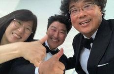 """배우 박소담 """"모든 시간 행복""""'기생충' 칸 황금종려상 수상 축하"""