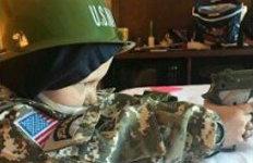 '군인이 꿈' 암투병 5세 꼬마사망후 최연소 대령 됐다