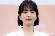 """송혜교 측근 """"결혼 얘기하며 눈물마음고생으로 체중 5kg 감소"""""""