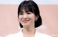 송혜교, 이혼조정 성립 전인터뷰서 한 말은…