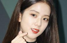 """블랙핑크 지수, 영국서손흥민 경기 직관…""""우와 짱!"""""""