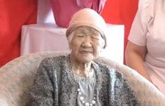 """세계 최고령 116세 日할머니""""내 힘 나눠주고 파"""""""