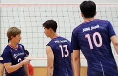 한국 남자배구, 日 꺾고조 1위로 8강 진출
