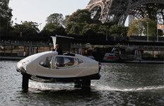 파리 센강 달리는 수상택시친환경·최대 시속 33km