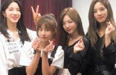 '송중국 딸' 송지아, 걸그룹옆에서도 빛나는 미모