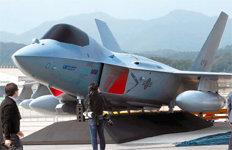 차세대 전투기 'KF-X' 실물크기 모형 공개