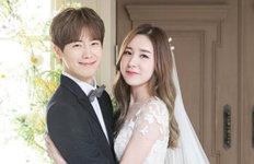 '결혼' 간미연♥황바울눈에서 꿀 떨어지는 웨딩화보