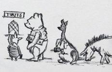 영국에서 60년만에 발견된'곰돌이 푸' 스케치…예상 낙찰가는?