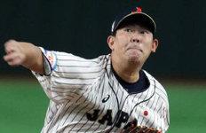 일본 선발투수 야마구치홈런 2방 맞고 1이닝만에 강판