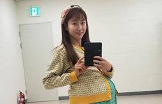 """전혜빈 """"똥배 아니여라""""깜찍 만삭 임산부 변신 공개"""