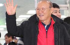 """'금의환향' 박항서 감독""""60년 동안 못한 우승 영광"""""""