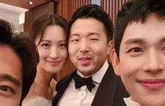 """수현♥차민근 결혼식 공개이현이·임시완 """"축하해요"""""""