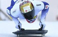 윤성빈, 월드컵 5차대회 銀3개 대회 연속 메달