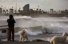 스페인 강타한 겨울 폭풍초강력…9명 사망·4명 실종