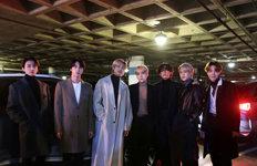 BTS, 수소전기차 '넥쏘'타고美 그래미 어워즈 참석