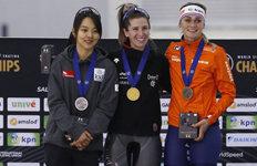 빙속 김보름, 종목별세계선수권 매스스타트 '은메달'