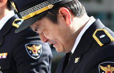 """""""아빤, 용감한 경찰이었다고…"""" 故 유재국 경위 영결식"""