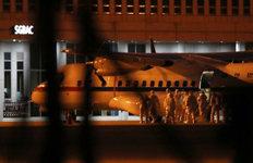 일본 크루즈선 탑승 교민김포공항 도착