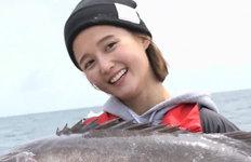 '도시어부2' 남보라,111㎝ 대어 낚았다…설욕전 성공