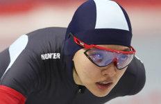 빙속 김보름, 동계체전 1500m 금메달…3관왕 등극