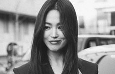 송혜교, 흑백사진도 빛나는 미모'우아+시크' 분위기