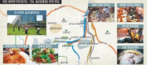 [대전의 맛있는 정거장]골프 테마파크內 치맥-퓨전식당 OK