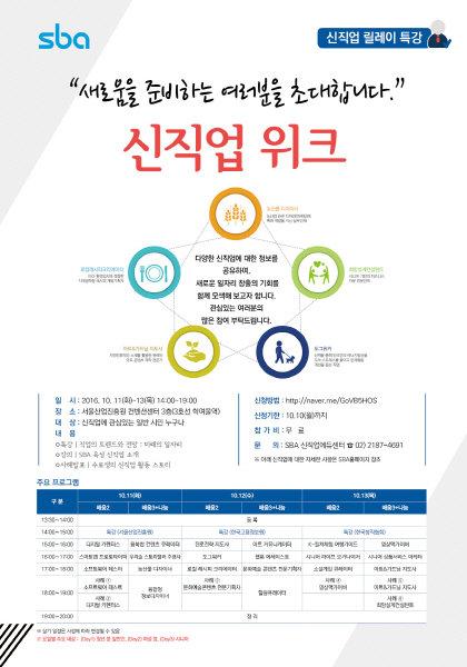 서울산업진흥원(SBA), 신직업 정보 공유 위한 '신직업 위크' 개최