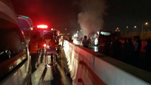 한화케미칼 '79년 입사동기' 한날 한시에 참변…경부고속도로 버스 화재