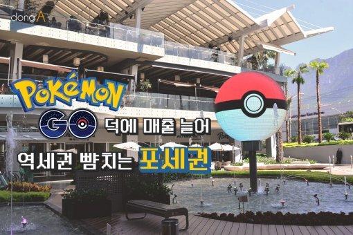 [카드뉴스]'포켓몬고' 덕에 매출 늘어…역세권 뺨치는 '포세권'