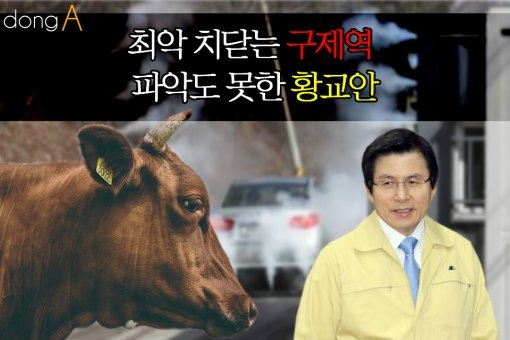 [카드뉴스] 최악 치닫는 구제역, 파악도 못한 황교안