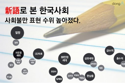 [카드뉴스]'X세대'부터 '흙수저'까지…신어로 본 한국사회
