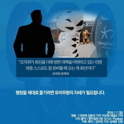 [카드뉴스]체감온도 영하 14도, 평창 혹한 속 '패션 코드'