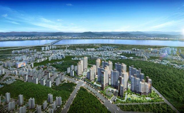 서울 가까운 경기 새 아파트 뜬다