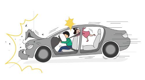 뒷좌석 안전벨트 미착용 시 과태료 부과…카시트 설치 필수