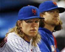 NYM 신더가드-디그롬, MLB.com 선정 '최고의 원투펀치'