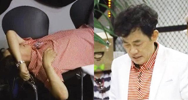 이경규, 울부짖으며 탈진…녹화 중단 위기 '대참사'