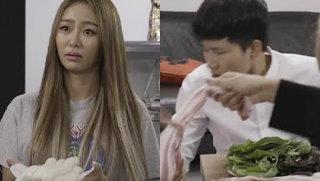 씨스타 효린, 이용진 향해 분노의 가래떡 싸대기 '경악'