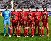 '한채린 데뷔골' 한국 女 축구, 세계최강 미국에 1-3 완패