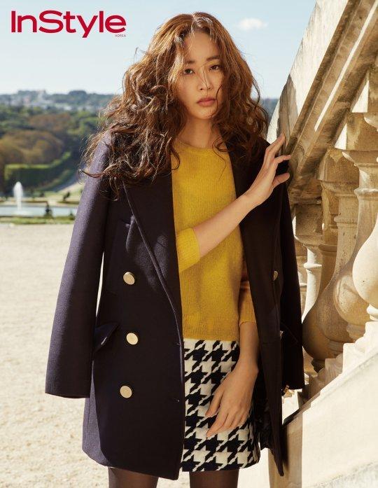 김효진, 가을 향기 듬뿍… 몽환적 눈빛 '가을 여신' [화보]