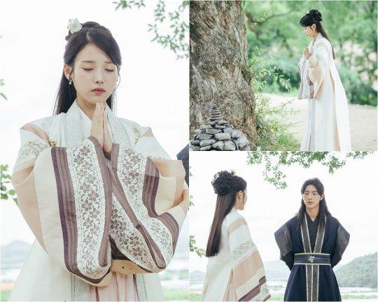'달의 연인' 이지은, 여인의 향기 물씬…선녀 자태 공개