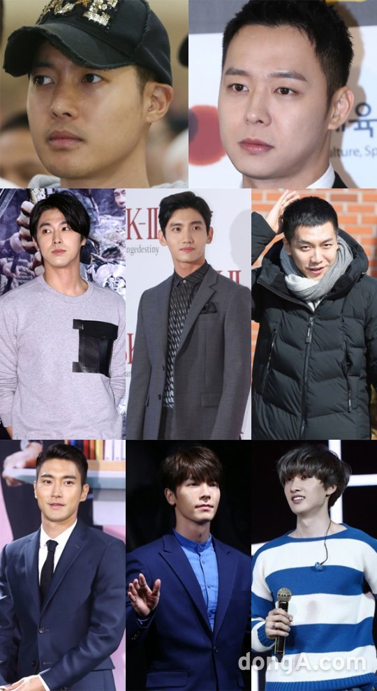 [2017 입대vs전역①] 김현중부터 이승기까지, 오빠들 돌아온다