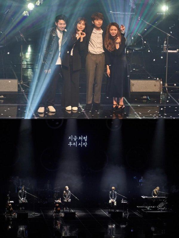 '안테나 엔젤스' 첫 콘서트, 저력 입증한 4日