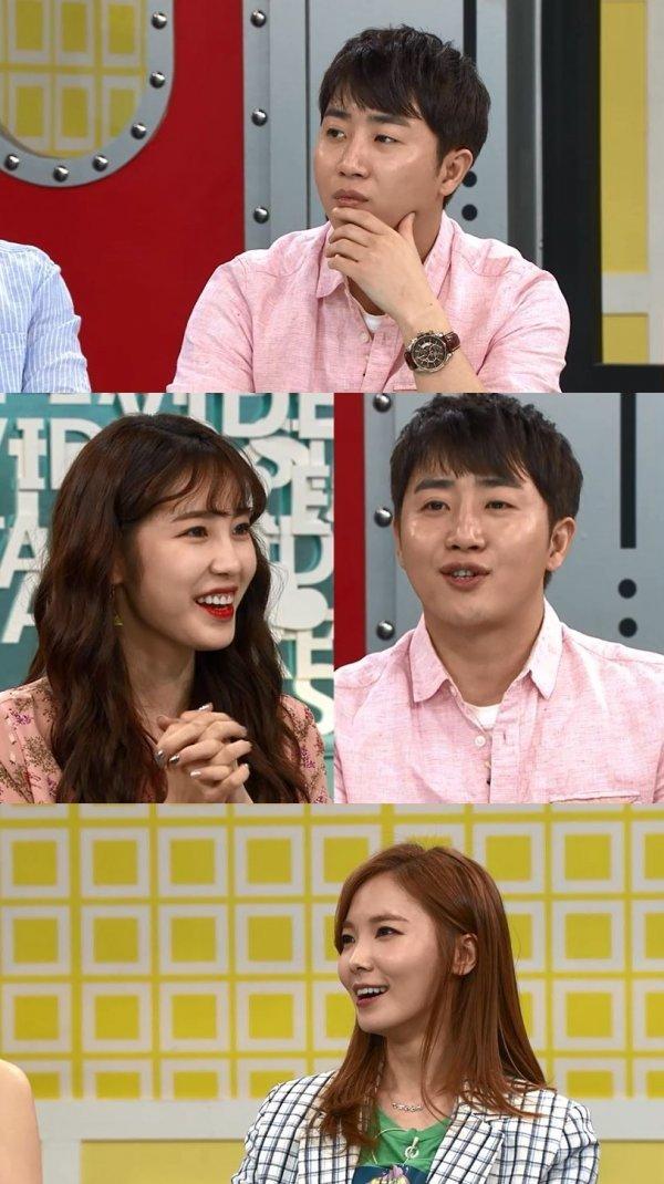 '비디오스타' 홍진호·전효성, 핑크빛 ♥ 분위기 포착