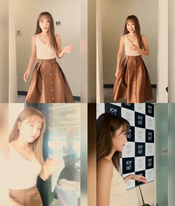 홍진영, '갓데리 언니'의 인형같은 미모