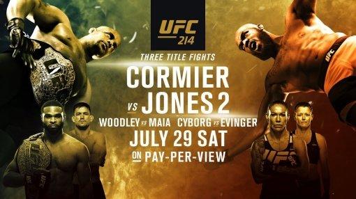 'UFC 214' 역대급 대진, 코미어 vs 존 존스 등 3체급 타이틀전