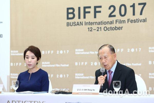 """[DA:현장] """"영화제는 계속돼야""""…22nd BIFF 김동호·강수연, 위기 넘어 개막 (종합)"""