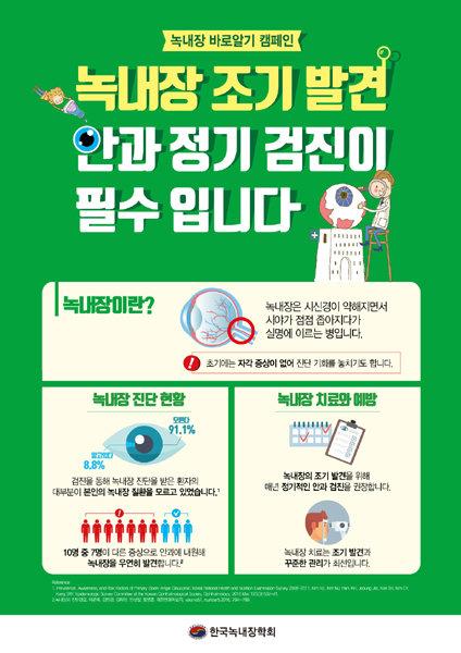 17일까지 '녹내장 바로알기' 캠페인
